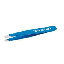 Mini Slant Tweezer Bahama Blue
