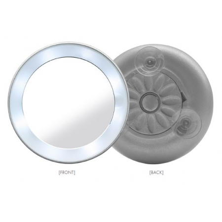 De Spiegel Vof.Mini Spiegel 15 X Vergrotend Met Led Verlichting