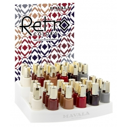 Nagellak display Retro Color's